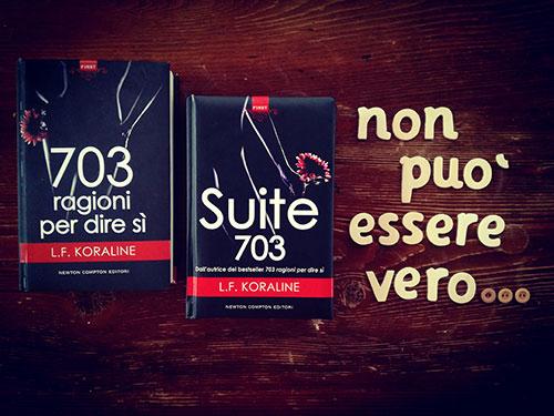 """""""Suite 703"""" di L. F. Koraline: un secondo volume che vi lascierà senza fiato"""
